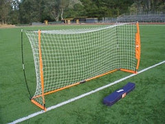Portable Soccer Goal Practice Bow Net NEW Bownet 6' X 12'