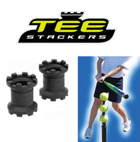 Tee Stackers Hitting Tee Attachment Batting Aid