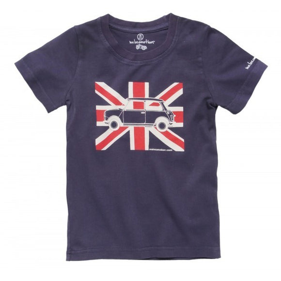 T-shirt enfant drapeau anglais by Ma Locomotion