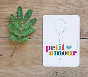 Carte Petit amour by Studio jolis mômes