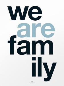 Carte We are Family by La cabane à Eugène