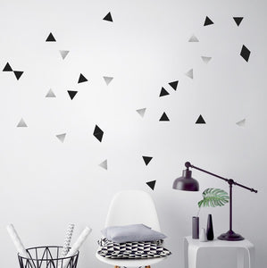 Stickers Triangles by PÖM le Bonhomme