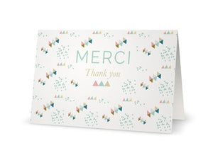 Carte Merci by Green and Paper