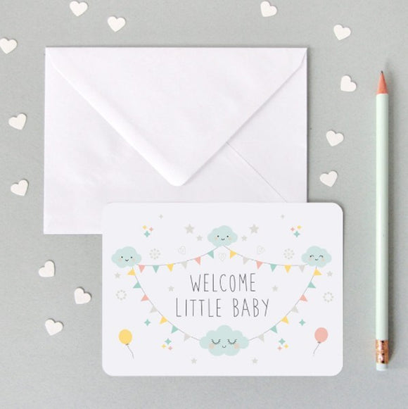Carte Welcome baby ZU by Zü