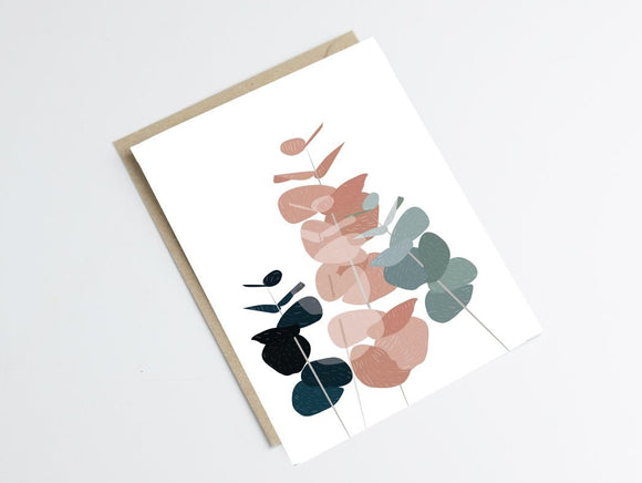 Carte Postale look scandinave by Green and Paper