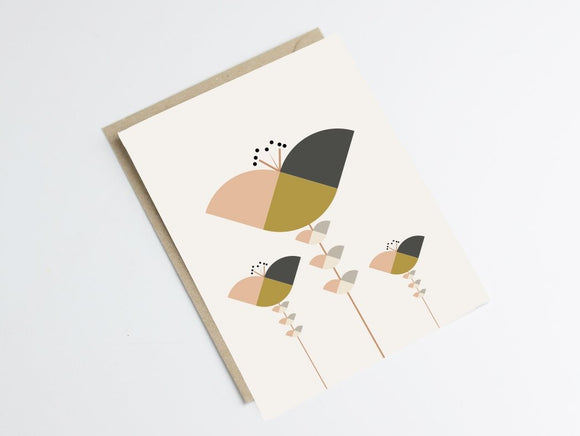 Carte design scandinave by Green and Paper