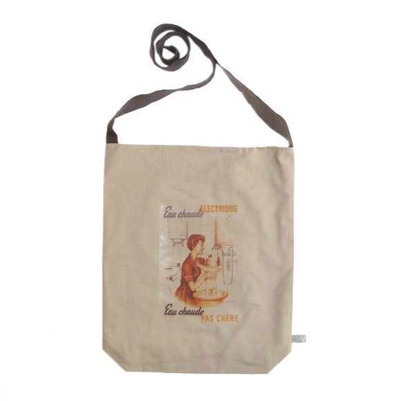 Tote bag vintage by Shifumi