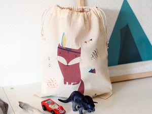 Petit sac cordon décoré by Green and Paper