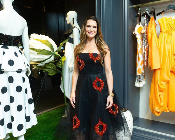 Brooke Shields at the Madison Boutique Opening