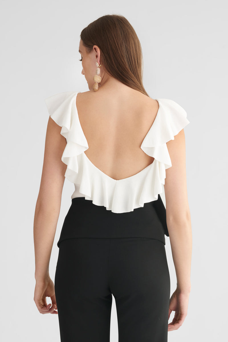 Paige Top - Ivory