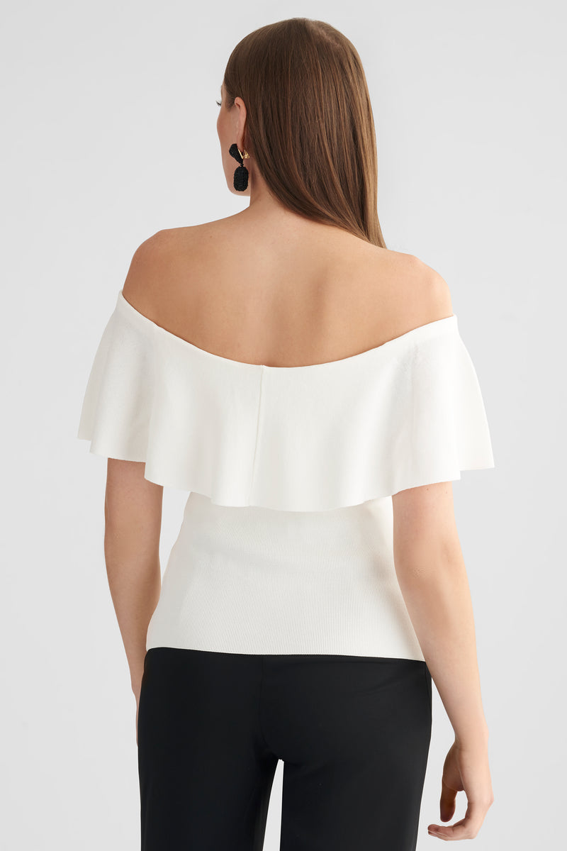 Bailey Top - Ivory