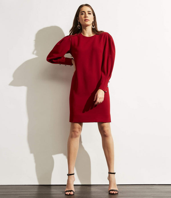 Frea Dress- Burgundy - Final Sale