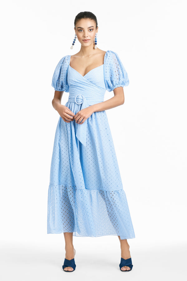 Jenna Dress - Baby Blue