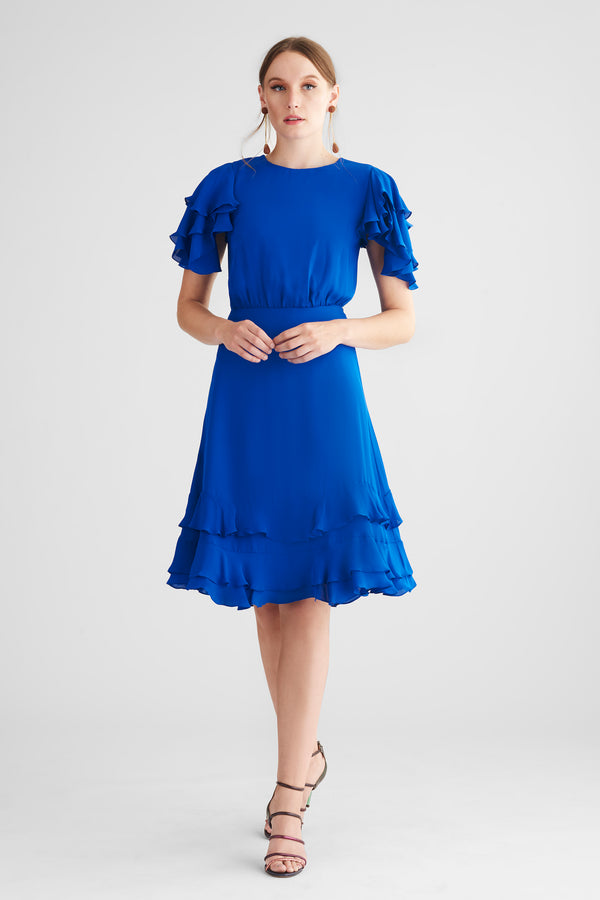 Gayle Dress - Imperial Blue