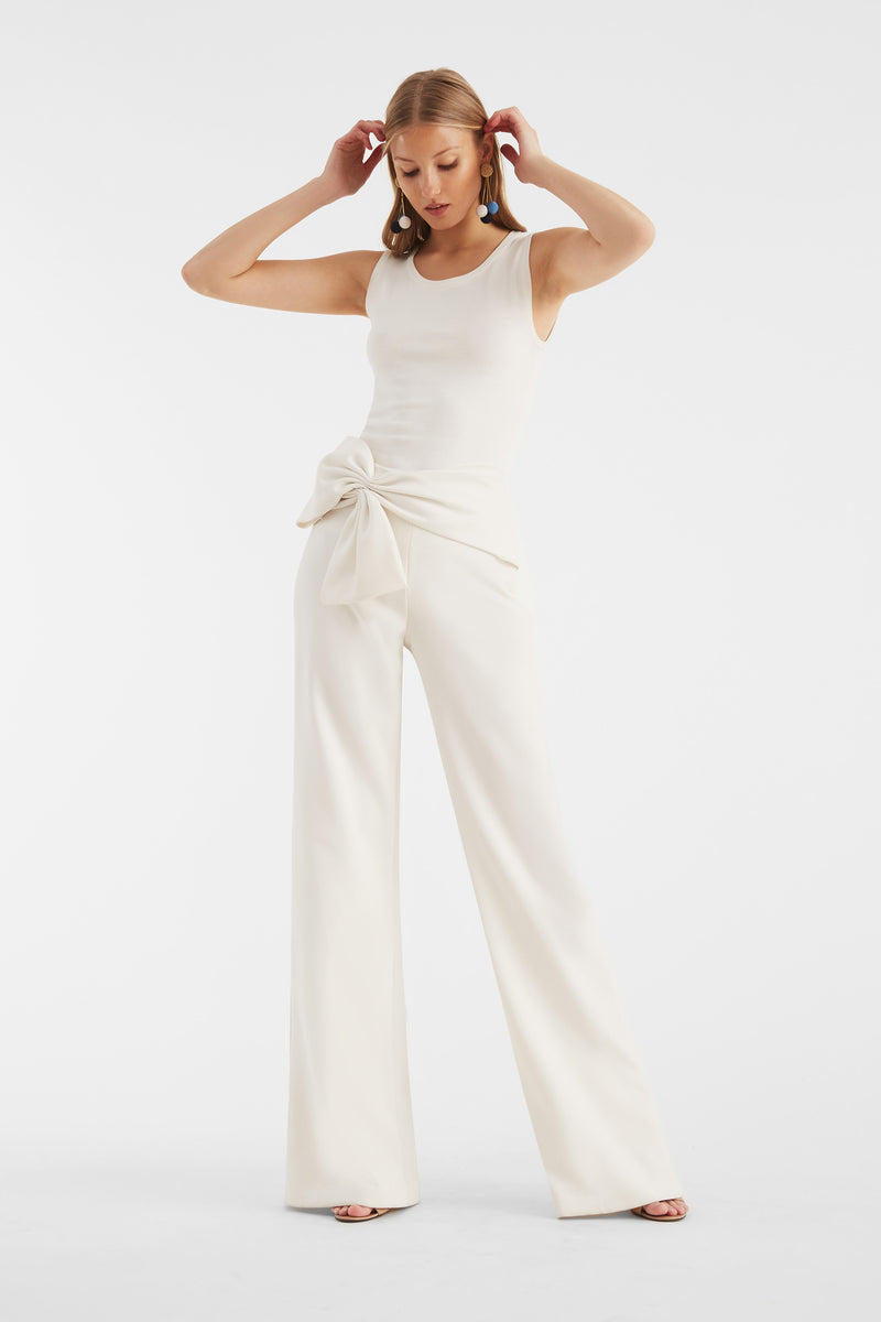 Whitley Pants - Ivory