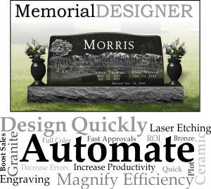 MemorialDESIGNER Monthly Subscription, Classic Collection Subscription and Startup Fee
