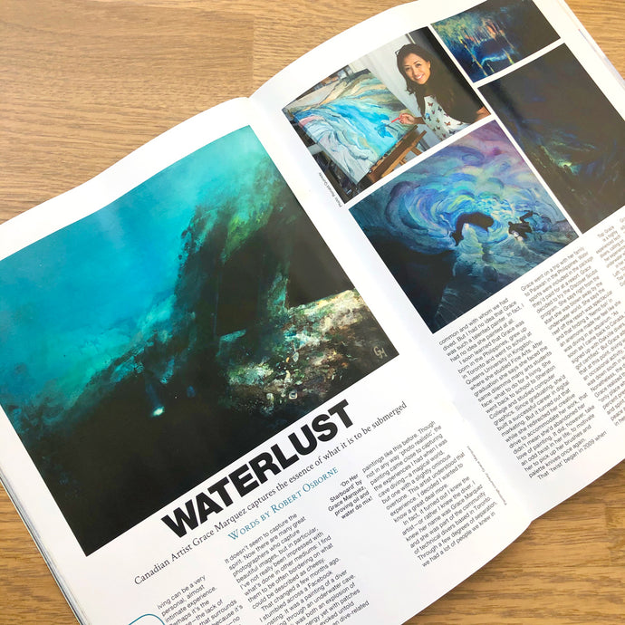 Featured in Diver Magazine - Spring 2020