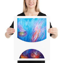 Load image into Gallery viewer, Bubbles: Jellyfish Dance Art Print