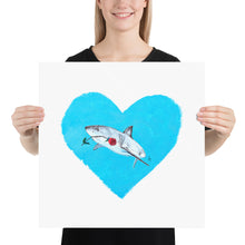 Load image into Gallery viewer, Looking For Love Shark Print