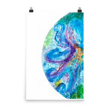 Load image into Gallery viewer, Bubble: Octopus Art Print