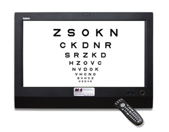 M&S Smart System Standard Visual Acuity System All-in-one