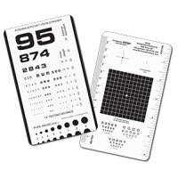 Rosenbaum Pocket Eye Chart, Plastic