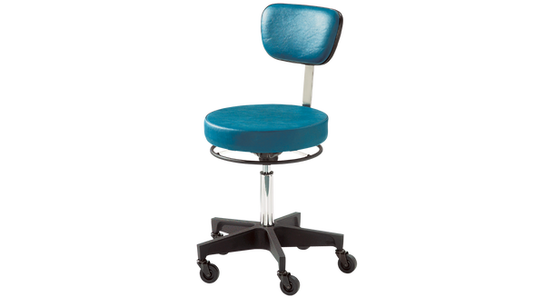 Reliance Stool 5346, Round Seat with Back