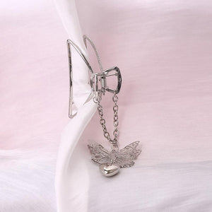 Butterfly Love Pendant Hairpin