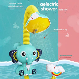 Elephant Shower Head Baby Bath Toy