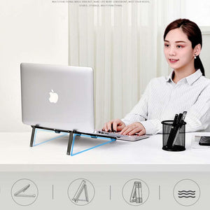 Metal Notebook Stand Computer Cooling Folding