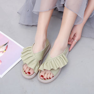 Women's Sandals Summer Soft Bottom Flat