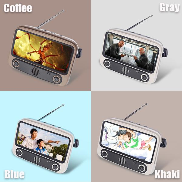 Bluetooth Speaker Portable TV Mobile Phone Holder
