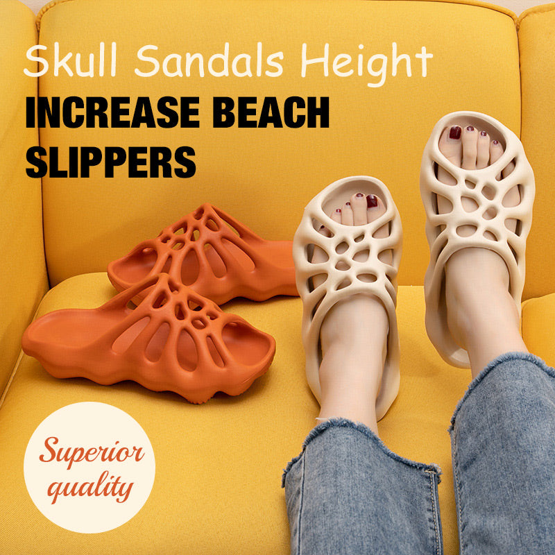 Non-slip Sandals Height Increase Beach Slippers