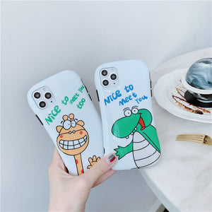Cute All-inclusive Soft Phone Case