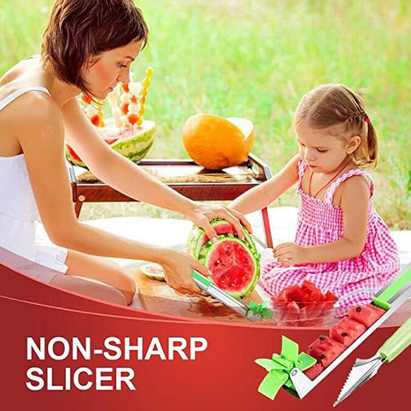 Stainless Steel Watermelon Slicer Kit