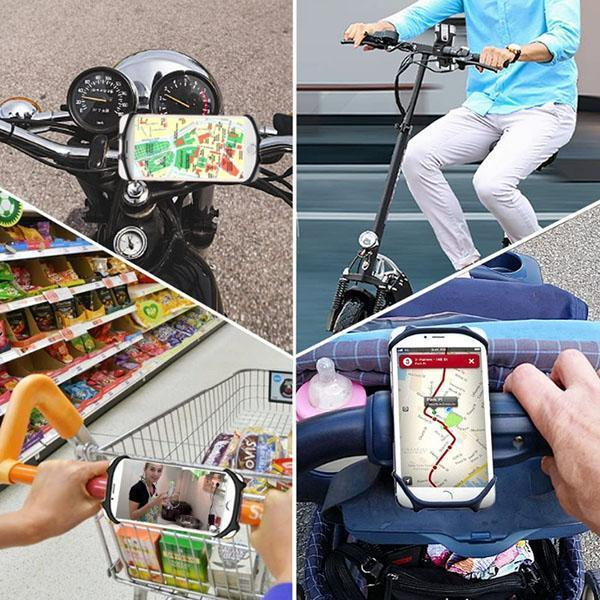 Silicone Bike Motorcycle Phone Holder