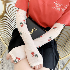 Lace Ice Sleeve Gloves