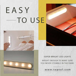 Home Improvement 4-led Touch Sensor Light