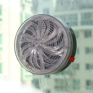 Solar-Powered Mosquito Lamp