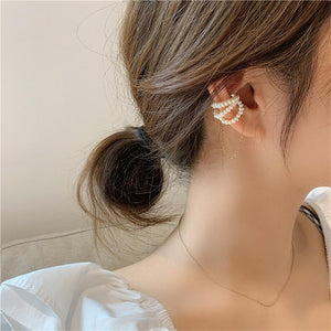 Rhinestones Ear Wrap Accessory