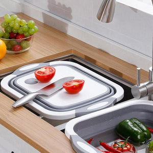 Multi-Function Folding Cutting Board