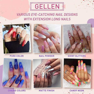 Nail Poly Extention Gel Kit
