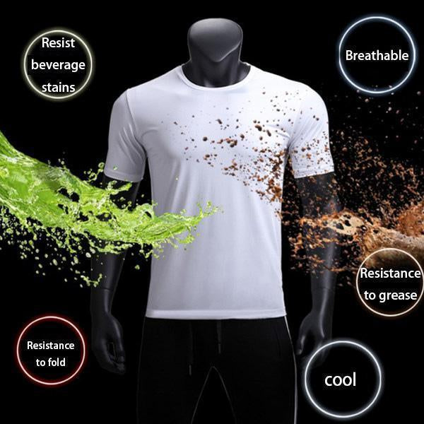 Anti-Dirty Waterproof Quick Dry T-Shirt