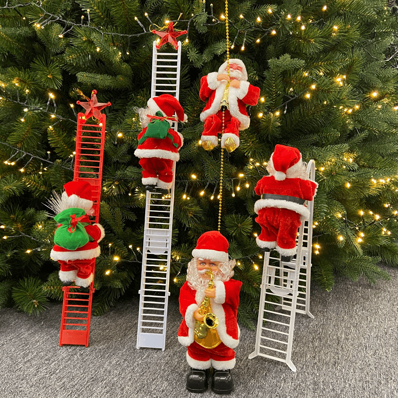 (50% OFF!!)Electric Climbing Santa - Limited Edition