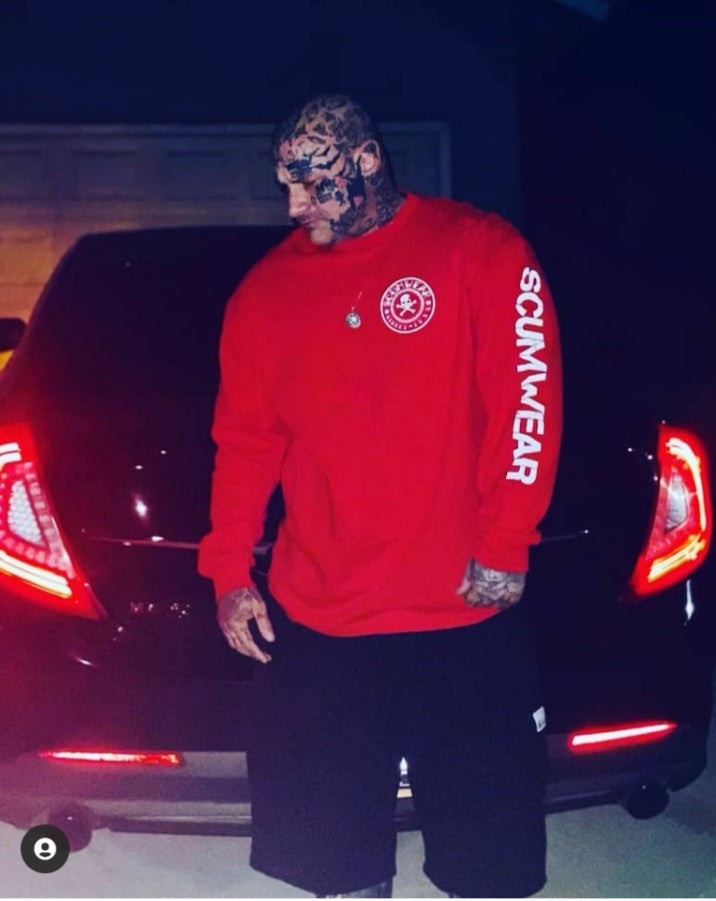 Red Limited Edition Long Sleeve