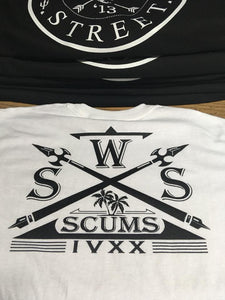 New White Scums T-Shirt