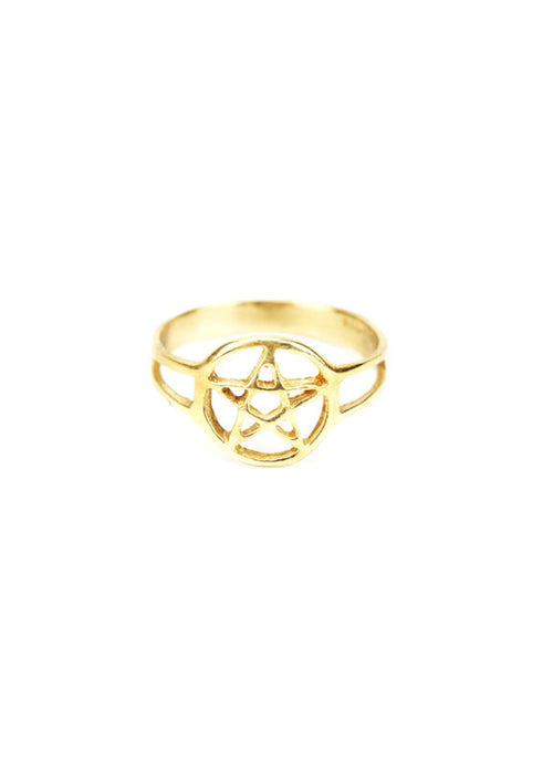 Pentacle Midi Ring