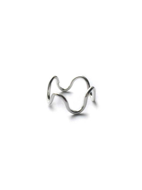Wavy Vibes Ring- Thin
