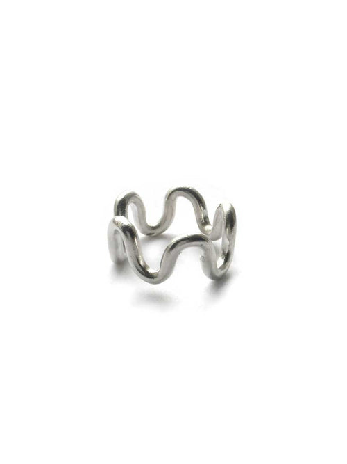 Wavy Vibes Ring- Thick