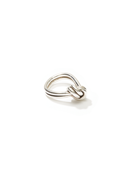 Double Ply Knotted Ring